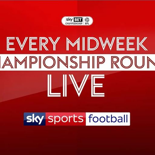 Every midweek Championship game live!