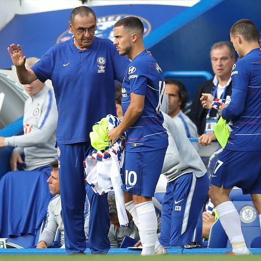 Hazard: Sarri suits me more than Jose