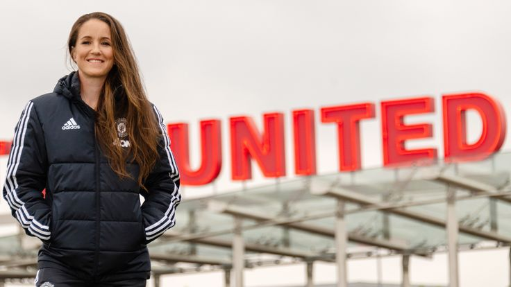Casey Stoney is the new manager of Manchester United women's team