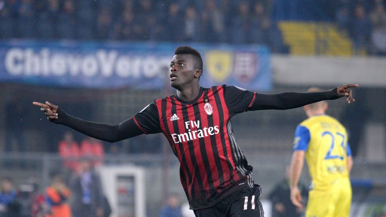 M'Baye Niang spent six years at AC Milan before joining Torino in January