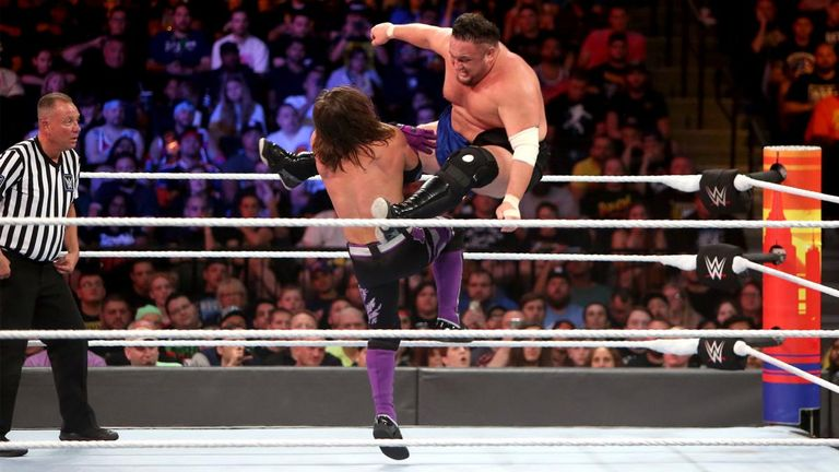AJ Styles and Samoa Joe had an excellent match for the