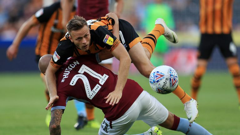 Chelsea's Todd Kane impressed on his Hull debut in the defeat to Aston Villa on Monday.