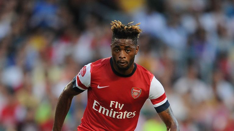 Alex Song played for Arsenal between 2005 and 2012