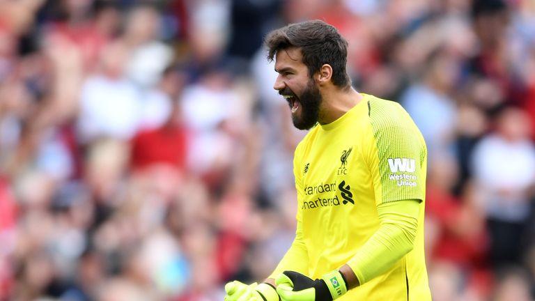 Alisson impressed again as Liverpool beat Brighton