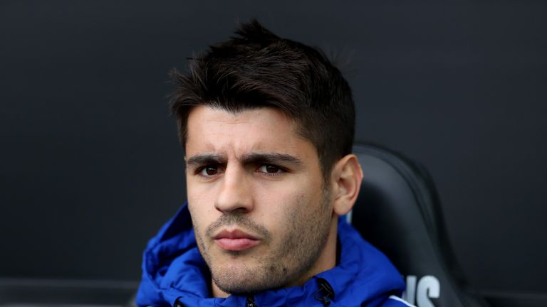 Only three of Morata's 16 goals in all competitions last season came beyond the new year