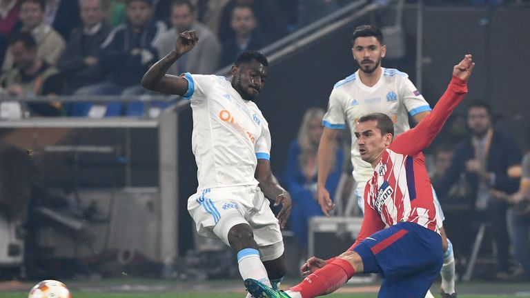 Andre Zambo Anguissa helped Marseille reach the Europa League final