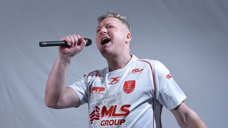 Erasure's Andy Bell first learned of the song's connection to Hull KR fans when videos were shared with him on Twitter