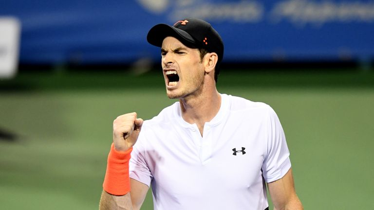 Andy Murray has been paired with unseeded Australian James Duckworth