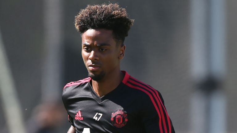 Solskjaer says Angel Gomes, along with Tahith Chong, has a 'big chance' of playing against Chelsea on Monday