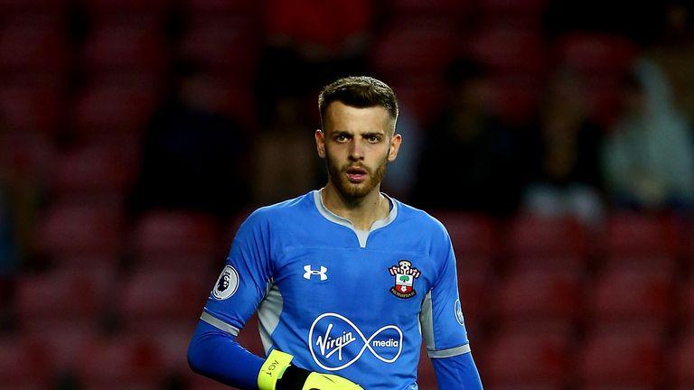 Angus Gunn says Southampton 'felt like home straight away'
