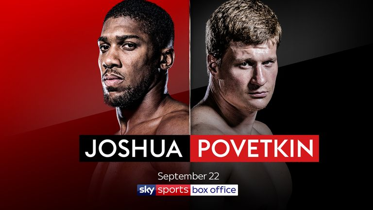 JOSHUA V POVETKIN - SEPTEMBER 22
