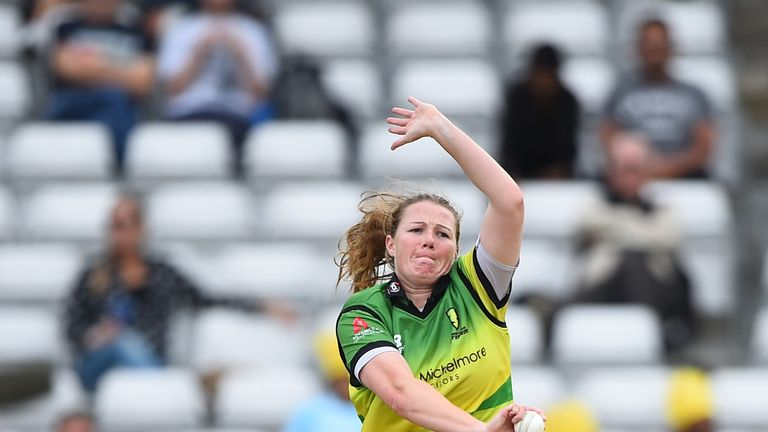Anya Shrubsole has played for Western Storm in the Kia Super League for the past three years