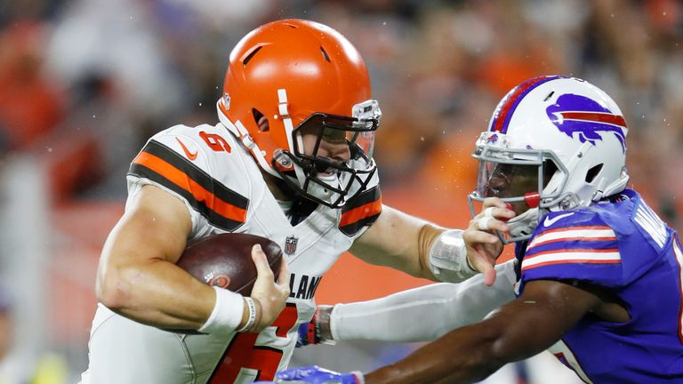 Baker Mayfield will be pushing Tyrod Taylor to take over as Browns quarterback