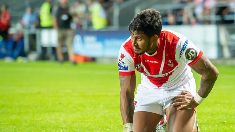 Ben Barba - much like St Helens - began the year on fire before his form dropped off
