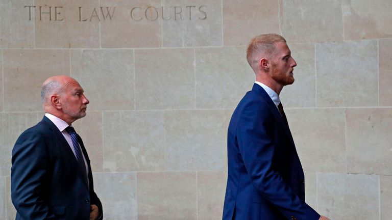 Ben Stokes trial for affray begins at Bristol Crown Court | Cricket