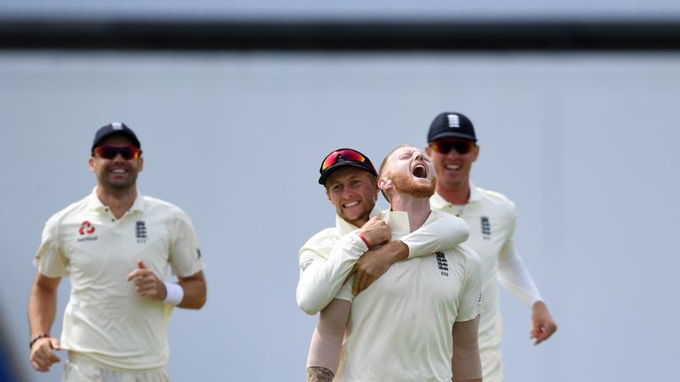 Ben Stokes during day four of the Specsavers 1st Test match between England and India at Edgbaston on August 4, 2018 in Birmingham, England.