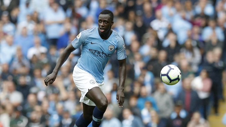 Benjamin Mendy is a doubt for Manchester City
