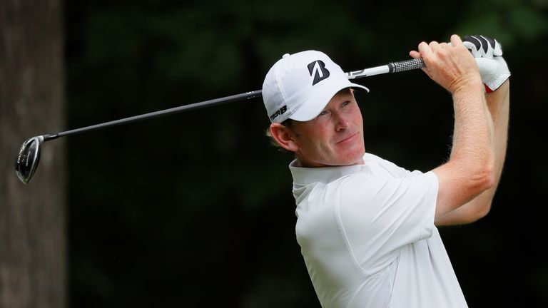 Brandt Snedeker has played seven holes of his third round