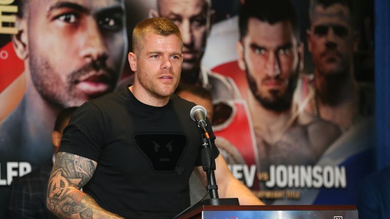Callum Johnson is poised to return to America for his next fight