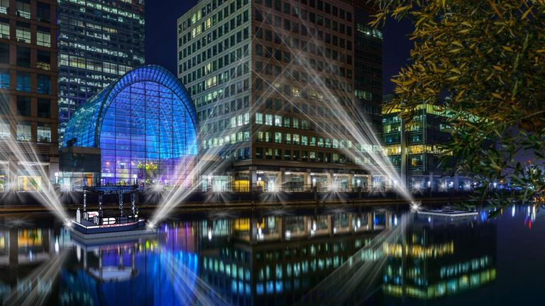 Canary Wharf hosts the event in October