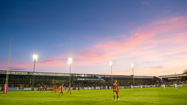 In more recent times, Castleford have achieved success with modest facilities