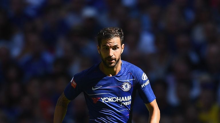 Sarri expects Fabregas to return to training in a week