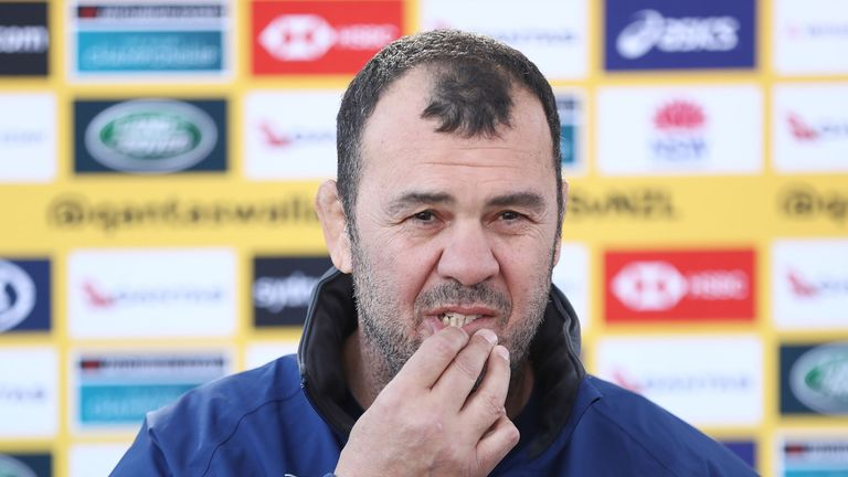 Michael Cheika faced calls for him to be sacked last weekend