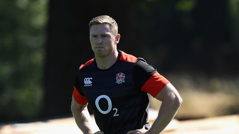 Chris Ashton was sent-off playing for Sale Sharks in a pre-season friendly against Castres in August