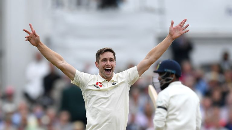 Woakes says he he has no concerns about his ability to get through Test matches