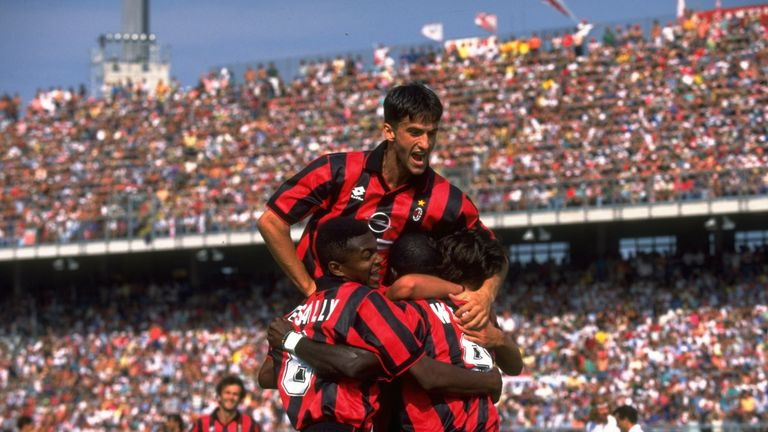 Christian Panucci won Champions Leagues with AC Milan and Real Madrid