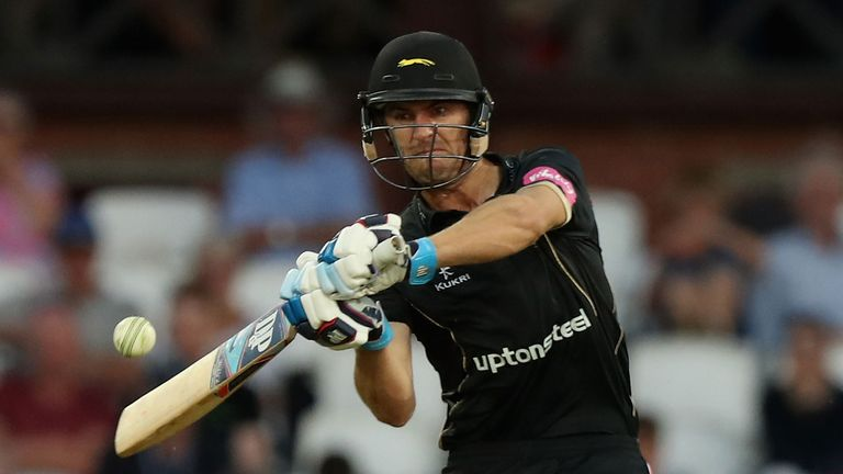 Leicestershire skipper Colin Ackermann struck five fours and a six