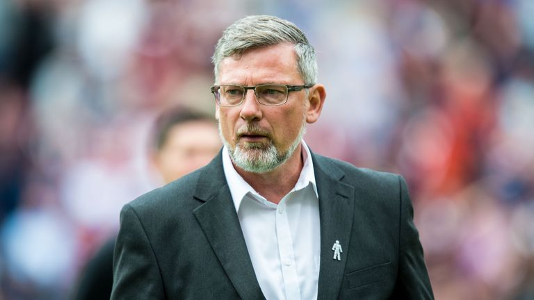 Craig Levein will pick Hearts' starting line-up against St Mirren