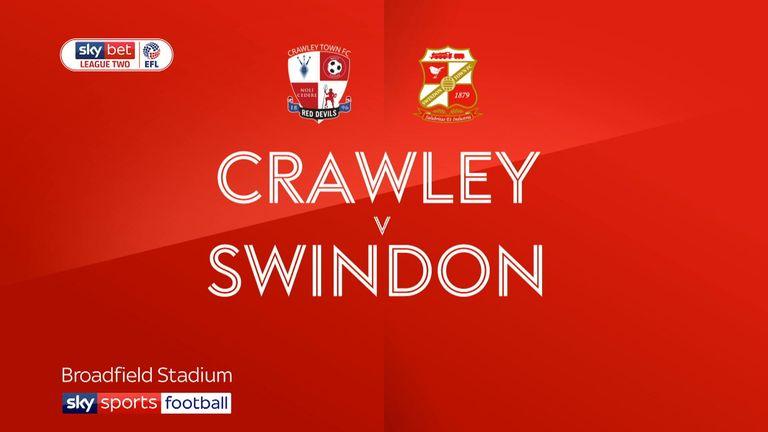 Crawley v swindon