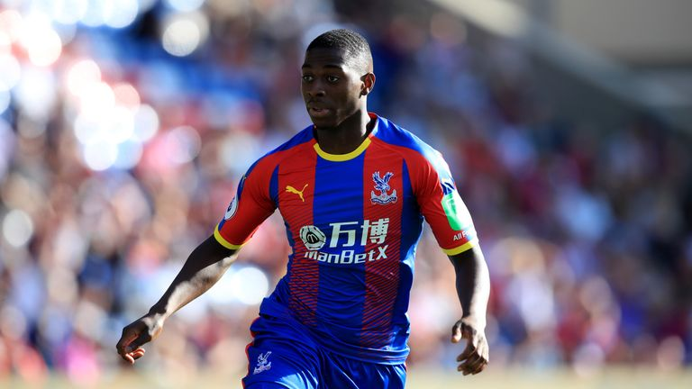 Crystal Palace are considering a loan offer for Sullay Kaikai from Brentford