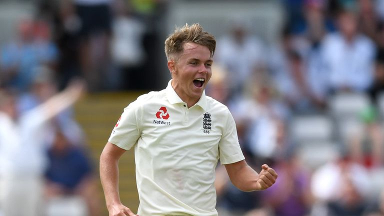 Sam Curran took 11 wickets and scored 272 runs for England in four Tests against India this summer