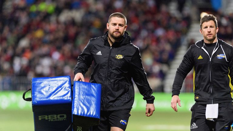 Dane Coles was named in New Zealand's squad for the Rugby Championship