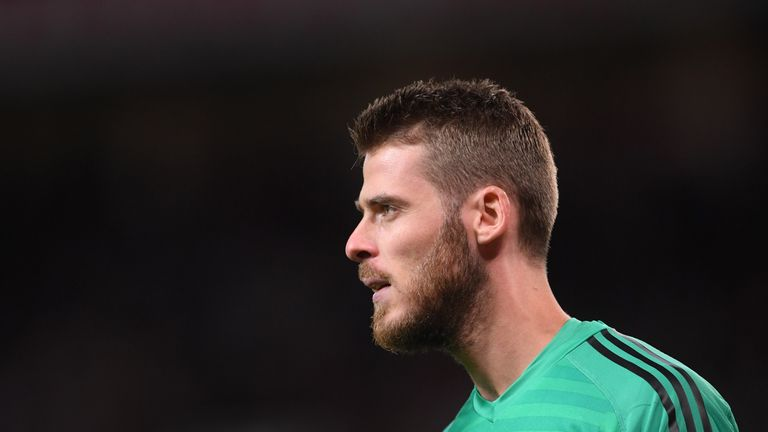 David De Gea was in form to deny James Maddison