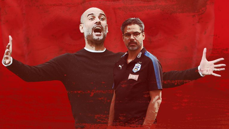 David Wagner and his Huddersfield Town side will be looking to take down the Goliath that is Pep Guardiola's Manchester City on Sunday