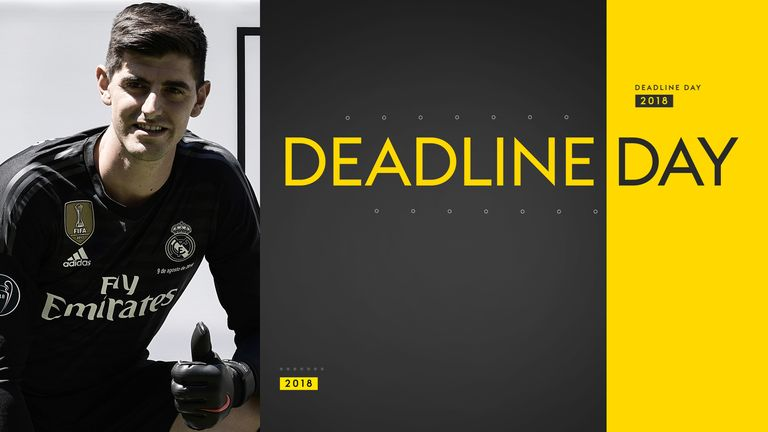 Deadline Day Courtois