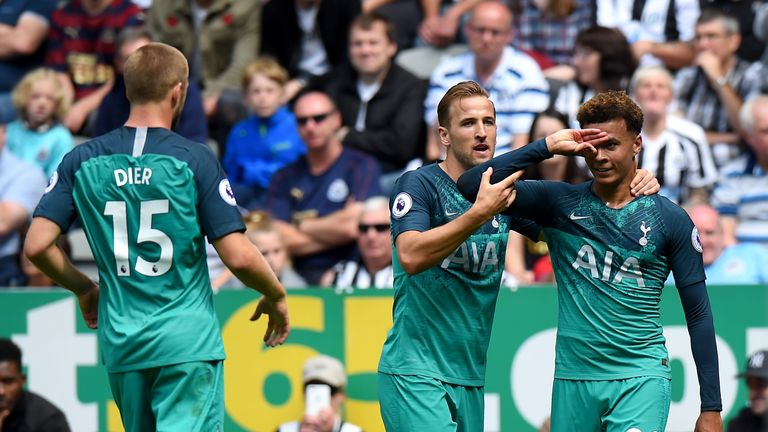 Tottenham began their Premier League season with a 2-1 win at Newcastle last weekend
