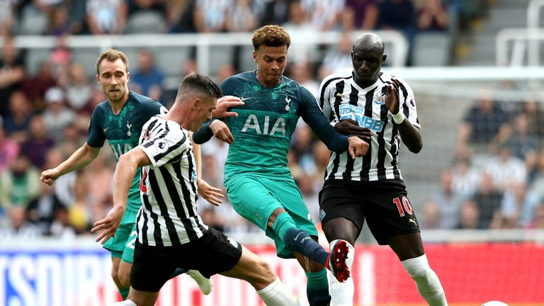 Jamie Redknapp was full of praise for Dele Alli's performance at Newcastle