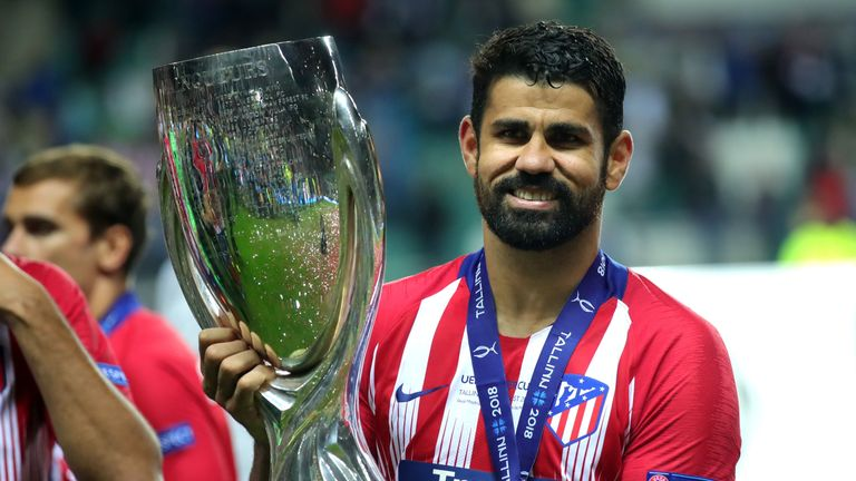 Diego Costa left Chelsea for Atletico Madrid in the summer of 2017 after Morata moved to Stamford Bridge