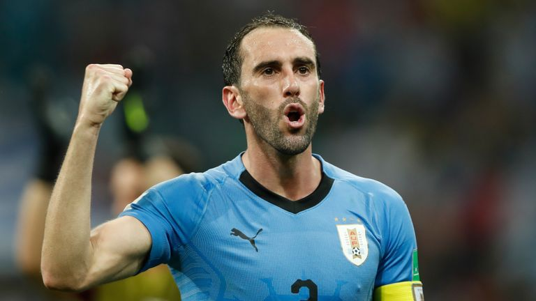 United made a late move for Diego Godin