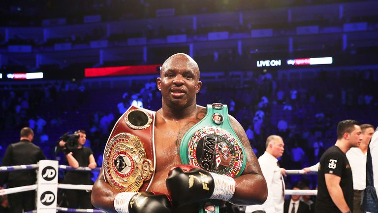 Dillian Whyte strengthened WBO ranking with a points win over Joseph Parker