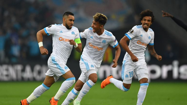 Dimitri Payet came second with his goal for Olympique Marseille against RB Leipzig in the Europa League quarter-finals
