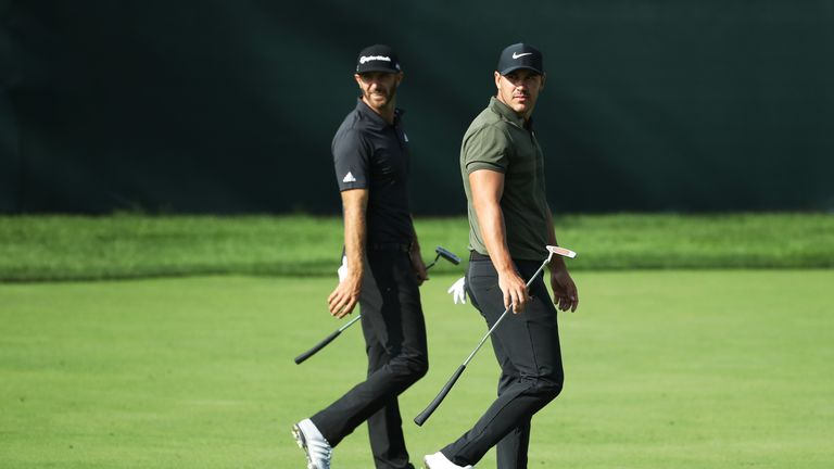 Koepka is one of three players in contention to regain the world No 1 ranking from Dustin Johnson