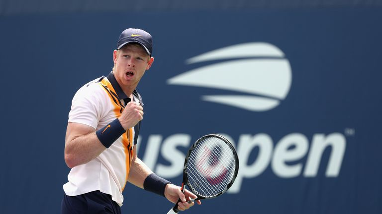 Edmund began in encouraging fashion before he was affected by cramp