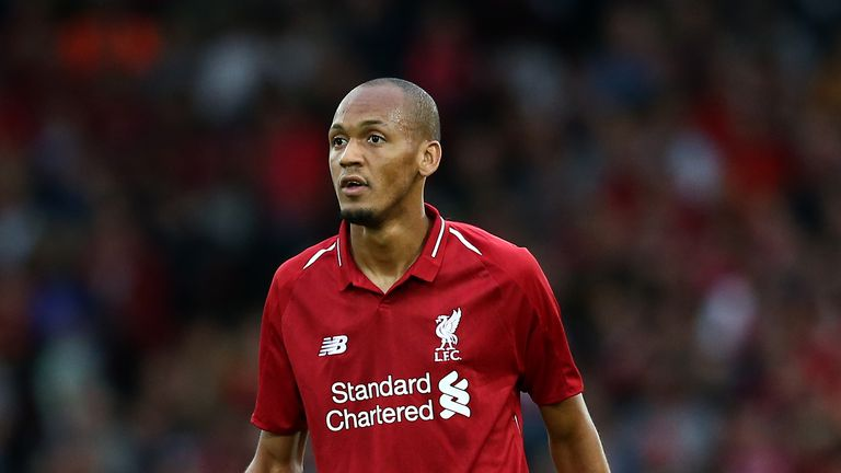 Fabinho signed for Liverpool during the summer transfer window