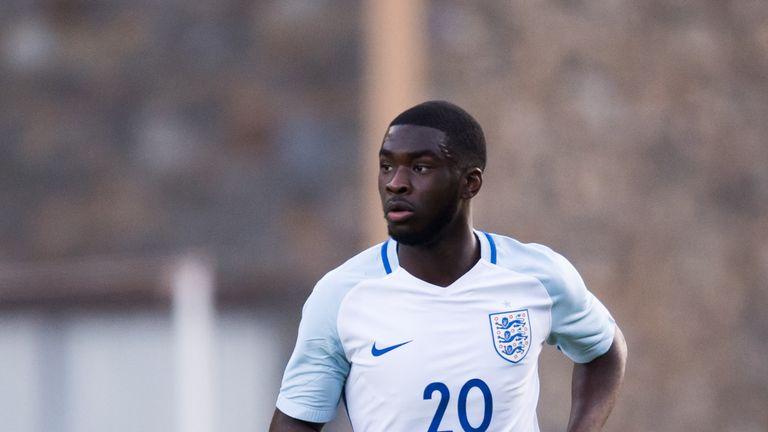 Fikayo Tomori has seven caps for England U21s