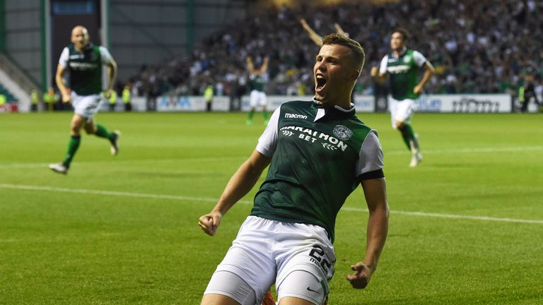 Florian Kamberi has scored four goals in three games in the Europa League qualifiers since re-joining Hibs on a permanent basis this summer